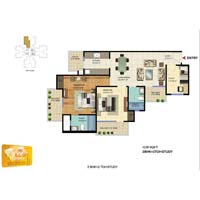 4 BHK Apartment For Sale In Greater Noida West, Sector 16 C, Gaur City