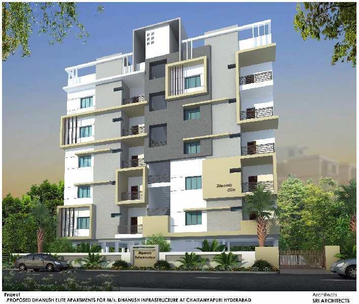 3 BHK Flat For Sale In Chaitanyapuri, Hyderabad
