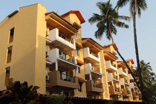 2 BHK Furnished Apartment With Rent Back Option Scheme For Sale At Candolim Goa