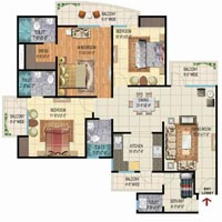 3bhk Society Flat 1850sqft all Inclusive 83.25lac