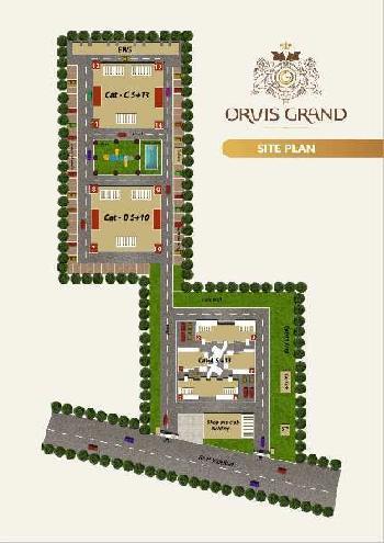 4 BHK Flats & Apartments for Sale in Old Kalka Ambala Road, Zirakpur