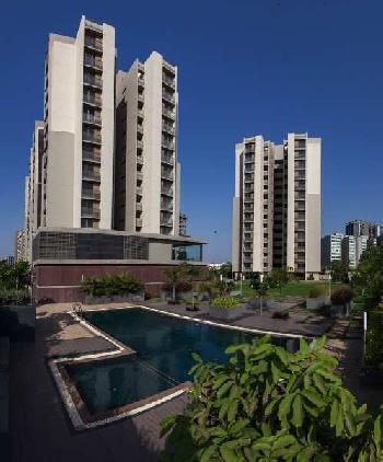 4BHK flat in Riviera Blues, Prahladnagar, Ahmedabad