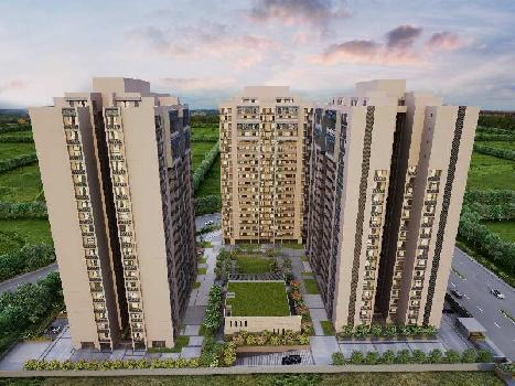 4BHK flat for sale in Skycity township in Ahmedabad.