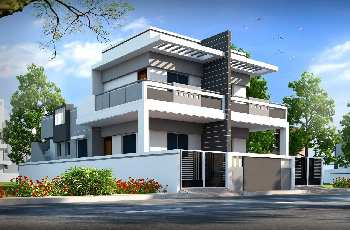 Corner Bunglow Type Duplex Row House