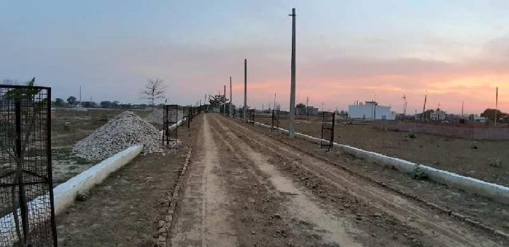 bank loan + fully developed + gated township+ nagar nigam+ gomti nagar ext.