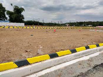 Onroad site dtcp approved plots in madurai to palani NH7.