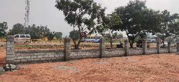 On road site.Dtcp approved plots in Gandhigramam university near .