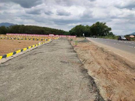 On road site, Dtcp approved plots in vedasandur to Dindigul NH7....80567637407