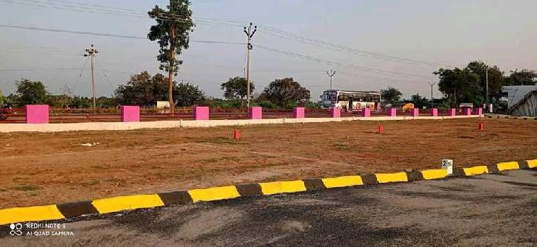 On road site.Dtcp approved plots in Dindigul to karur NH7r