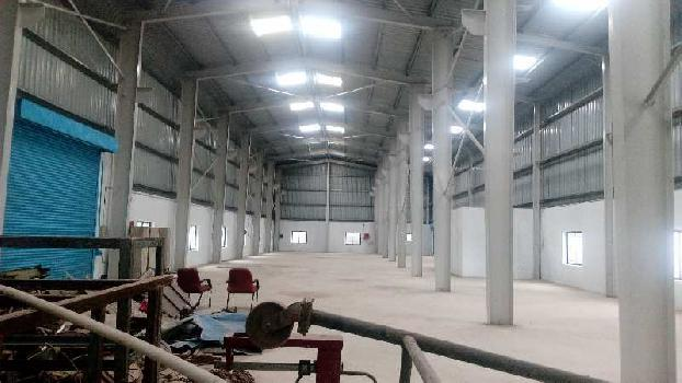 10,000 sqft factory shed for rent in chakan midc Mhalunge