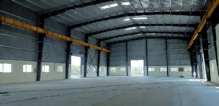 42000 sqft midc industrial shed forlease in chakan midc phase 2 .