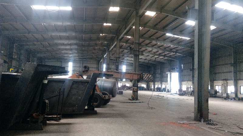 37000 sqft industrial shed for rent in chakan midc .