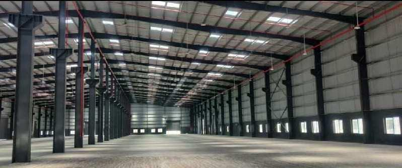 100000 sqft industrial shed for lease in chakan midc.