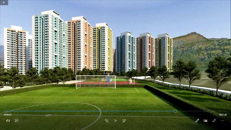 1 BHK Flat at wadhwa wise city