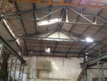 Industrial shed and RCC Building for lease 14000 SQFT