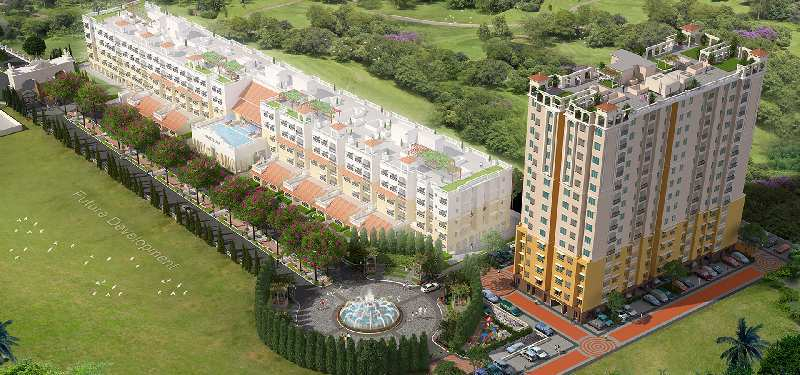 2 BHK Flats & Apartments for Sale in Siruseri, Chennai