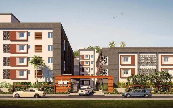 2 BHK Flats & Apartments for Sale in Sholinganallur, Chennai