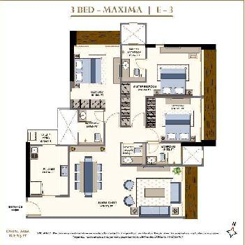 3 BHK Flats & Apartments for Sale in Lower Parel, Mumbai