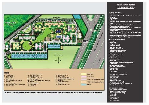 3 BHK Flat For Sale In Assotech Blith Sector-99, Gurgaon.
