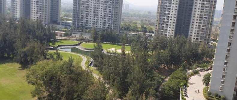 2 BHK  Golf Facing Flat For Sale At Blue Ridge Hinjawadi Pune