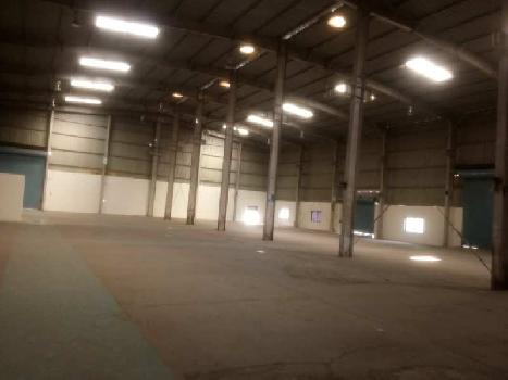 Industrial shed at Chakan 17500 sq ft, in prime industrial area, opposite Bajaj.