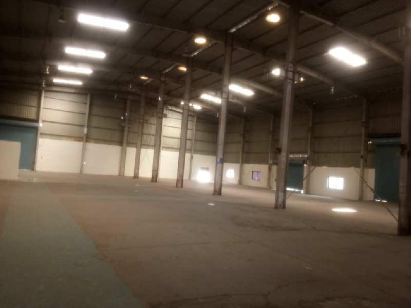 Industrial shed at Chakan 17500 sq ft, in prime industrial area, opposite Bajaj.