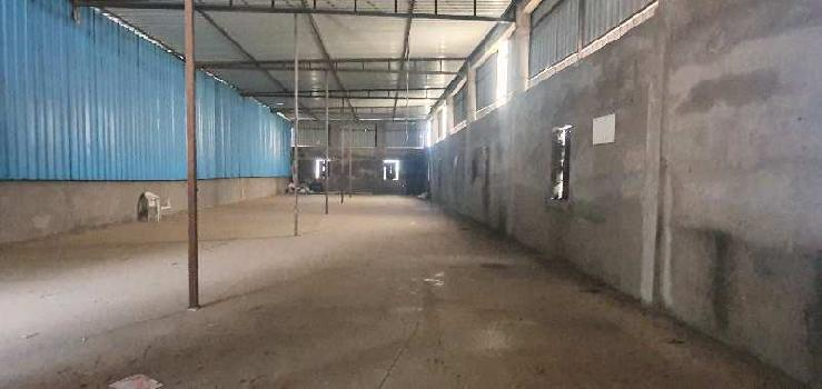 Industrial shed for rent in Sinnar MIDC