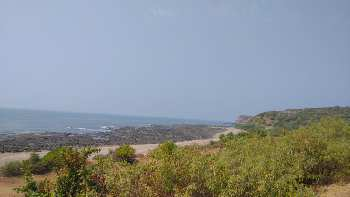 Sea View plot for sale near Dighi Port