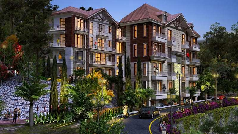 2 BHK Flats & Apartments for Sale in Mall Road, Solan