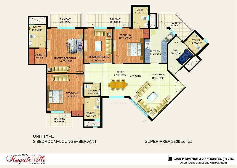 3 BHK Flats & Apartments for Sale in Sector 82, Gurgaon