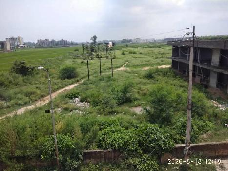 3.80acre land on Ambala Narayangarh highway near city.  Front on Highway.  Industrial zone.