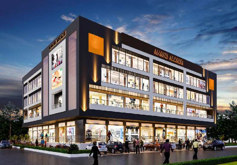 136 Sq.ft. Commercial Shops for Sale in Moudhapara, Raipur