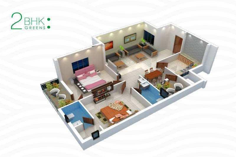 2, 3 & 4 BHK Residential Apartments at Mowa, Raipur