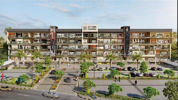 office for sale on airport road zirakpur