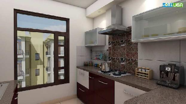 Ready to move 2 bhk flat for sale in zirakpur