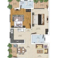Flat in Patrakar Colony in Mansarovar