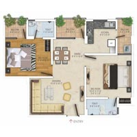 Flat in Patrakar Colony