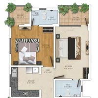 Flat in Mansarovar for Sale