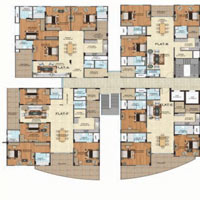 3 BHK Luxurious Apartment near Shyam Nagar
