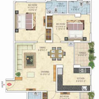 3 BHK Multistorey Flat for Sale in Narayan Vihar