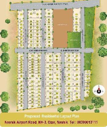 Commercial Lands /Inst. Land for Sale in Ozar, Nashik
