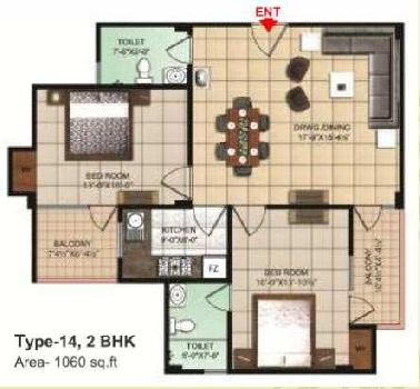 2 BHK Flat For Sale In Allahabad