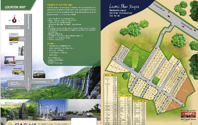 Residential Plot For Sale In Shiv Nagar, Plot No. 26, Nashik Trimbak Highway Touch Khambale Shivar,