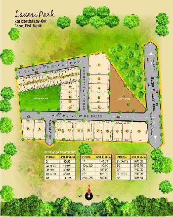 Residential Plot For Sale In Laxmi Park , Plot No. 30 to 37 ,Nashik Pune Highway, N.H 50 Nashik.