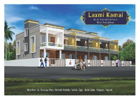 2BHK luxurious Row Banglo Jatra Hotel near Sepret 7/12 Plot with Construction Only 38lakh
