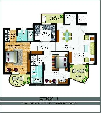 2 BHK Flats & Apartments for Sale in Zirakpur