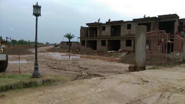 Independent Plots in Gated Township