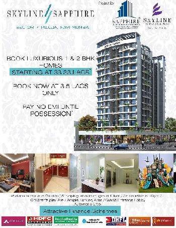 2 BHK Flats & Apartments for Sale in Taloja, Navi Mumbai