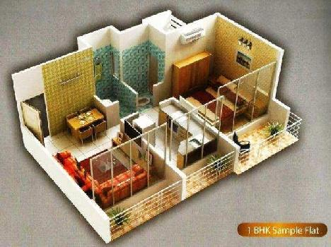 1 BHK Flats & Apartments for Rent in Sector 5, Navi Mumbai