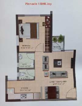 1 BHK Flats & Apartments for Sale in Howrah